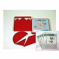 エジソンクラブ 図形パズル(赤)+ノート5冊セット