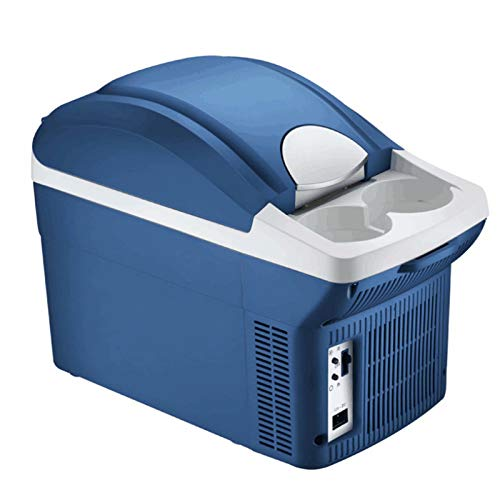 Mini Nevera, Enfriador y Calentador de 8 L con AlimentacióN de AC/DC, con Forro Grueso y Portavasos, Ahorro de EnergíA, Silencioso, Utilizado para la Vida en el Hogar, Salidas en AutomóVil