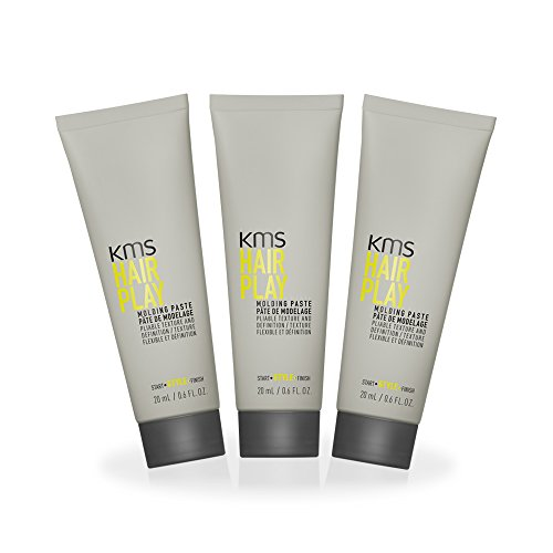 HairPlay Molding Paste 3 x 20ml by KMS California