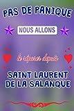 Pas de panique, nous allons le réparer depuis Saint-Laurent-de-la-Salanque: journal | agenda | carnet de notes avec page lignée
