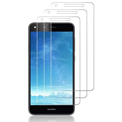J&D Compatible para 3 Paquetes Huawei Y6 II Compact Protector de Pantalla,...