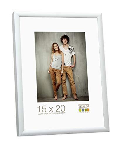 Deknudt Frames S024D1 30 x 45 cornice grigio argento metallo