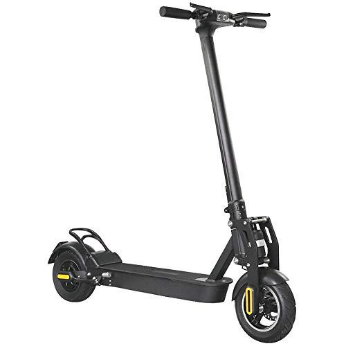 E-Scooter mit 500 W Motor, 60 km Reichweite, 10 Zoll Luftbereifung, Scheibenbremse, nur 19 kg, 130 kg Tragkraft, faltbar, 14 Ah