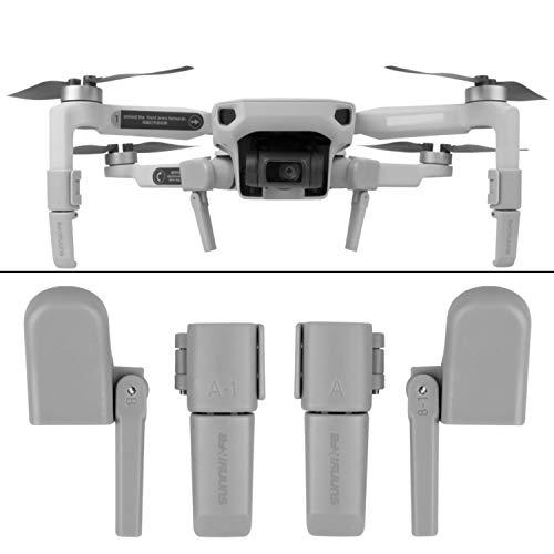Drohnen Fahrwerk, kompatibel mit DJI MAVIC MINI, schützt Gimbal und Unterboden, garantiert sanftes Landen, Drohnen Beine Landung, Drohnen Landegestell, Landefüße für Dji Mavic Mini Drohne, Anstecken