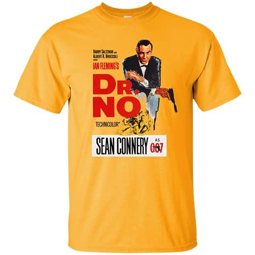 James Bond, Dr. No, Retro, 007, Sean Connery, Thunderball, Goldfinger, G200 Gild Yellow L