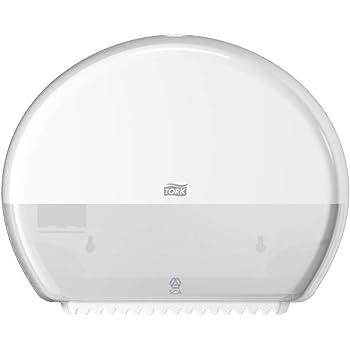 bianco Sca Tork 681000/SmartOne mini portarotolo di carta igienica