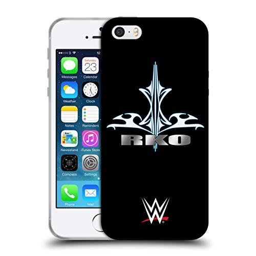 Head Case Designs Licenza Ufficiale WWE Randy Orton RKO Destiny Superstars 9 Cover in Morbido Gel Compatibile con Apple iPhone 5 / iPhone 5s / iPhone SE 2016
