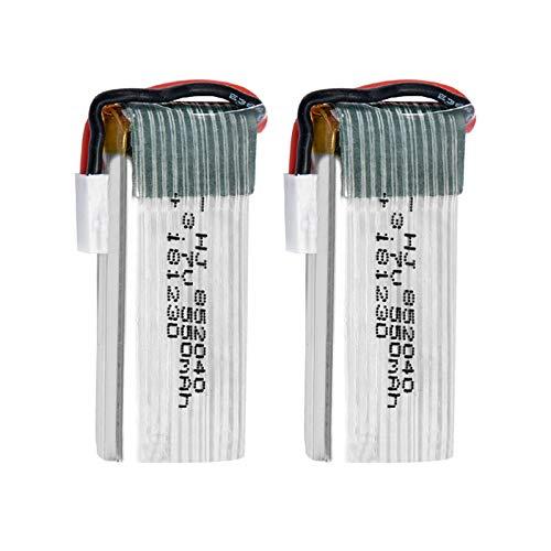 Viudecce Batteria Lipo 2PZ per JXD 523 523W H43WH Drone Quadricottero RC 852040 Batteria Lipo 3.7 V 550 mAh