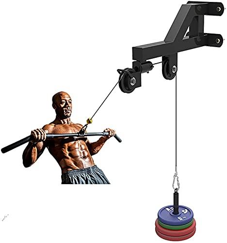 Equipo de fitness de entrenamiento de fuerza Fitness LATENCIA Sistema de polea de cable pulldown, gimnasio for el hogar accesorios de la máquina de la máquina de entrenamiento de entrenamiento Tríceps