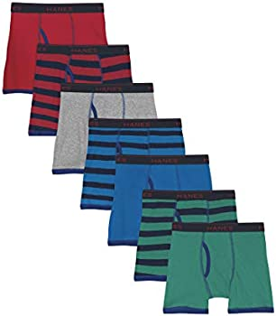 5-Pack Hanes Boys' Comfort Flex Fit Sport Ringer Boxer Briefs (X-Large)
