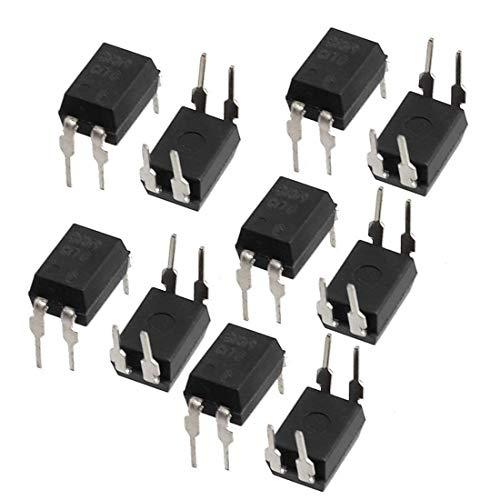 UIOTEC 10PCS PC817 PC817C EL817C LTV817 PC817-1 DIP-4 OPTOCOUPLER Sharp*