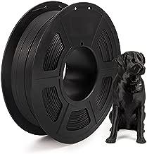 IEMAI Carbon Fiber PLA 3D Printer Filament, Carbon Fiber Filament 1.75mm, PLA Filament Spool 1KG, Dimensional Accuracy +/- 0.02mm Black Filament for 3D Printer