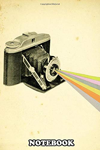Notebook: Hand Cut Camera Collage By Cassia Beck , Journal for Writing, College Ruled Size 6