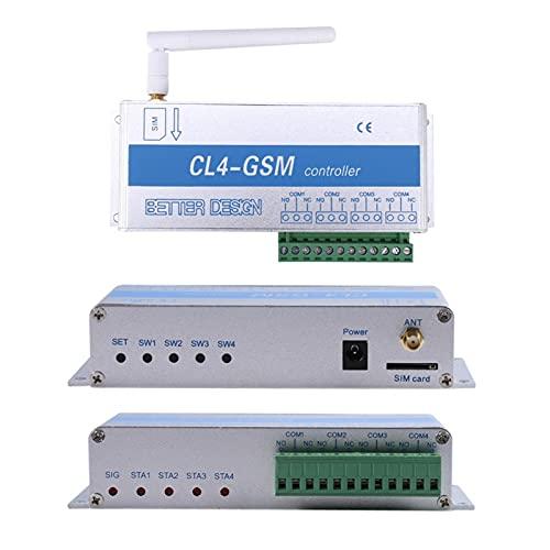 Controlador gsm, Interruptor de Control Remoto inalámbrico Controlador gsm gsm SMS Control de Llamadas Sistema de Seguridad para el hogar Cl4-gsm para Servidor Lámpara Computadora Refrigerador TV(ME)