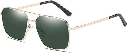 55 mm Square Polarized Sunglasses for Men