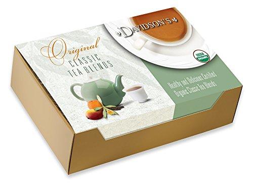 Davidson's Tea Single Serve 100-Count Orange Bags 舗 Spice 永遠の定番