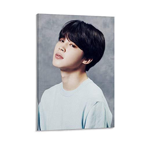 K-POP BTS JIMIN Nam-joon Kim Seok Jin Min Yoon Gi Jeon Jung Kook J-Hope Kim Tae Hyung 24 poster su tela e stampa artistica da parete, 50 x 75 cm