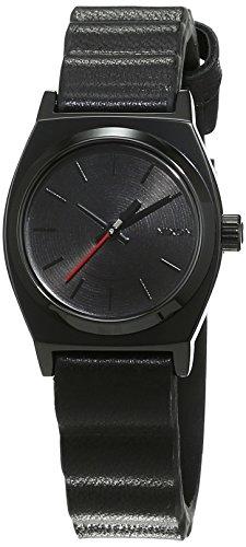 Nixon Herren-Armbanduhr Small Time Teller Leather SW Vader Black Analog Quarz Leder A509SW2244-00