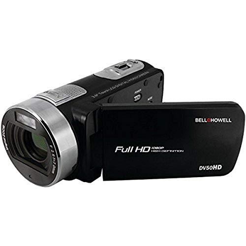 bell howell cheap camcorders BELL+HOWELL 20.0 Megapixel 1080p Dv50hd Fun-Flix Camcorder, Black (DV50HD-BK)
