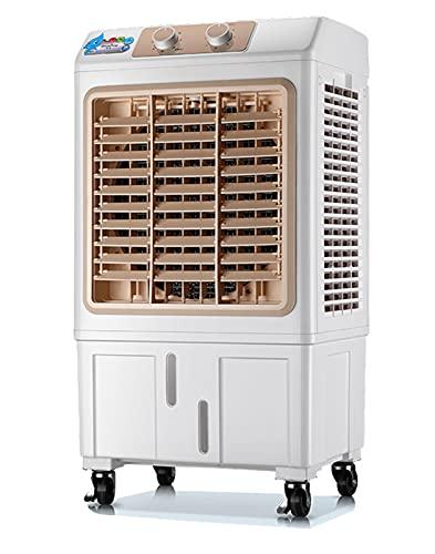 DYJXIGO Enfriador de Aire evaporativo, móvil Aire Acondicionado móvil Habitación Avión de refrigeración Enfriador de Aire/Ventilador/humidificador 3 Modos de Viento y co Mechanical