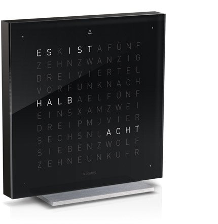 Qlocktwo Touch Black Ice Tea deutsch