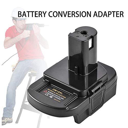 Mellif USB Battery Adapter DM18RL for Dewalt to Ryobi Battery, for Dewalt 20V for Milwaukee 18V Convert to for Ryobi 18V Lithium-ion Battery