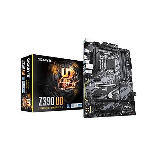 GIGABYTE Z390 UD, Intel LGA1151 Z390 ATX M.2 Realtek ALC887 Realtek 8118 Gaming LAN HDMI Gaming Motherboard