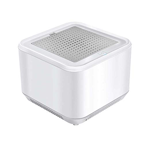 UV-sterilisatielamp, 6-laags UVC-luchtzuiveringsfilter, ozon ultraviolet sterilisatielicht voor thuis, keuken, badkamerkast