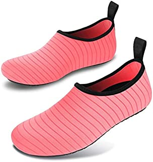 BEESCLOVER Summer Outdoor Sneakers Women Men Aqua Wading Shoes Unisex Swimming Diving Water Shoes Beach Footwear Soft Yoga Shoes