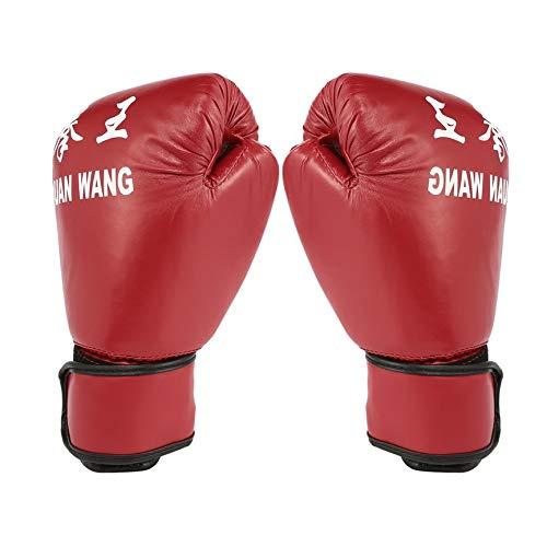 Peanutaod Red & Black Adult Boxhandschuhe Professionelle Sandsackhandschuhe Kickboxhandschuhe Faustkampf Männer Frauen Training Kampfwerkzeug
