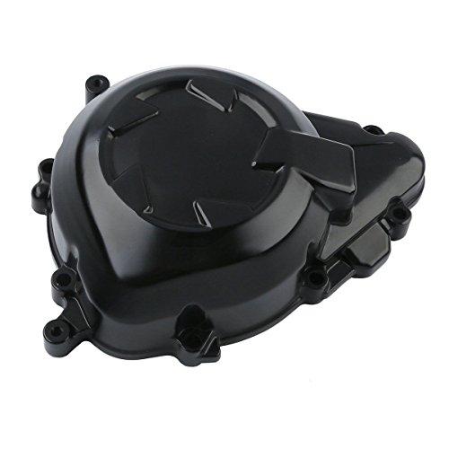 Black Engine Crank Case Stator Cover Left For Kawasaki Z1000 2011-2016 2012 2013