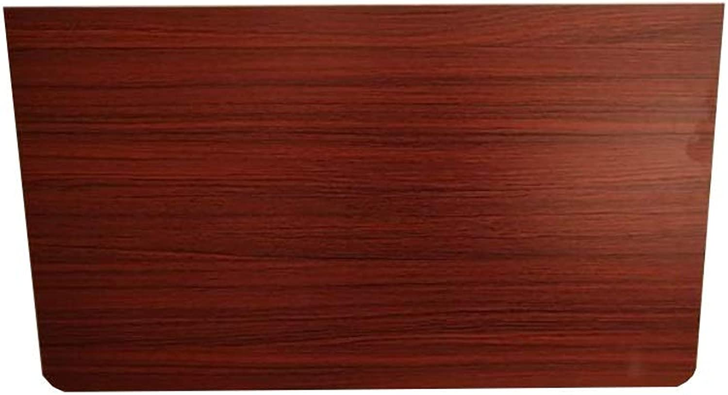 WFFXLL Folding Table Teak color Wall Hanging Laptop Table Deciduous Computer Kitchen Dining Table Bookcase (Size   70x40cm)