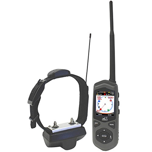 Dog Expedition TC1 Border Patrol GPS System and Remote Trainer, Black...