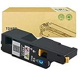 WENMWCompatible con DELL C1660W Cartucho de tóner para DELL C1660W Color Cartucho de Impresora láser, Color Azul