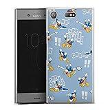 Coque Compatible avec Sony Xperia XZ1 Compact Étui Housse Produit sous Licence Officielle Donald...