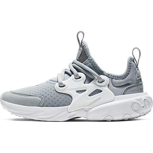 Nike Jungen Rt Presto (ps) Leichtathletikschuhe, Grau (Wolf Grey/White 2), 35 EU