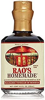 Rao's Homemade Aged Balsamic Vinegar, 8.5 Oz Bottle, 1 Pack, Premium Traditionally Aged Balsamic Vinegar Imported from Italy, Great as a Dressing or Flavorful Seasoning