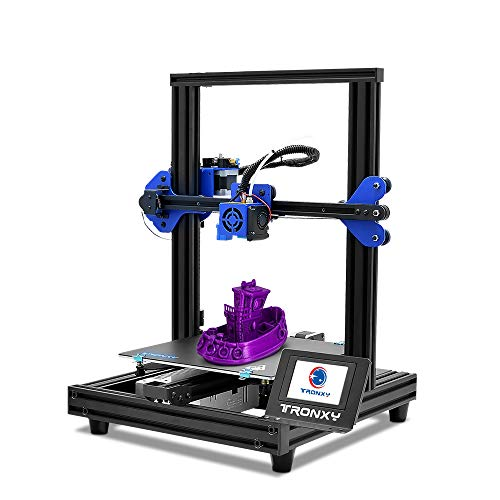 TRONXY XY-2 PRO 3D Drucker Prusa I3 Struktur Druckgröße 255 * 255 * 260 mm, einfach zu bedienen, geeignet für Anfänger/Schule/Heim/Filamentdetektor/automatische Nivellierung/PLA ABS PETG