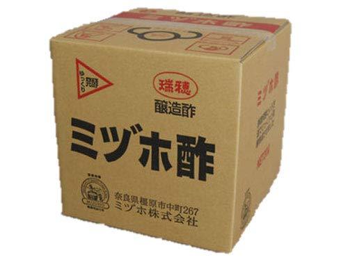 【純国産 業務用 米酢】ミヅホ酢 純米酢20L