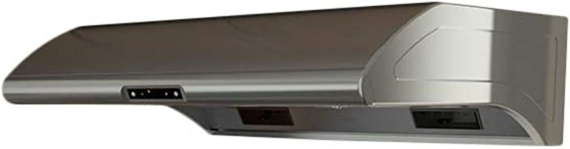 Zephyr AK2142B 850 CFM 42 Inch Wide Under Cabinet Range Hood from the Typhoon Se, Stainless Steel