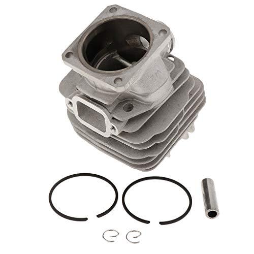 LOVIVER Kit de Cilindro de Pistón y Cilindro 48mm Adecuado para Piezas de Motosierra Stihl 034 034av 034 Super 036 Ms360 Gasolina