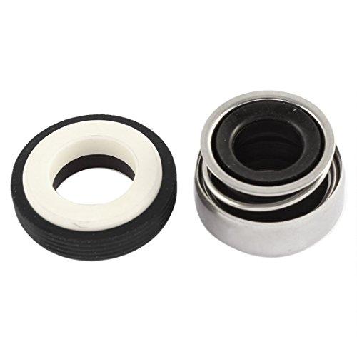 DealMux Single Coil Spring Water Pump Sello mecánico 12mm Diámetro interno