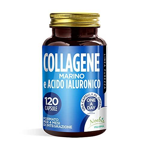 COLLAGENE E ACIDO IALURONICO - 4 MESI DI INTEGRAZIONE - 120 CAPSULE - 100% ALTA QUALITA'