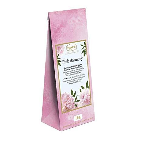 Ronnefeldt - Pink Harmony - aromatisierter Weißer Tee - Rhabarber-Himbeergeschmack - 50g