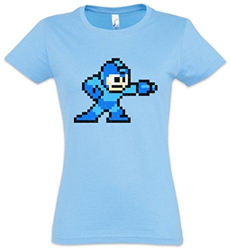 """Mega Boy """"J"""" Mujer Girlie Women T-Shirt – Man Game 16 bit..."""
