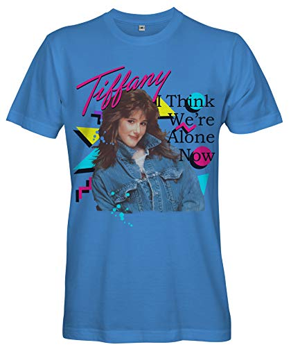Women's Blue Tiffany I Think We're Alone Now Tee