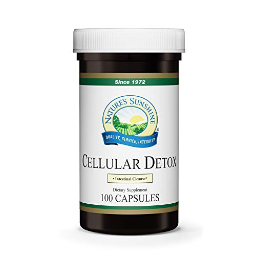 Nature's Sunshine Cellular Detox 100 Capsules