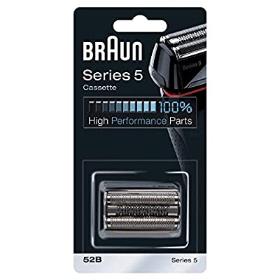 Braun Shaver Replacement Part 52B Black, Compatible with Series 5 Shavers from Procter & Gamble