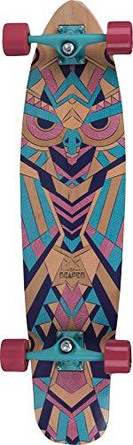 REAPER WOODKEEPER Longboard Kicktail Cruiser Skateboard