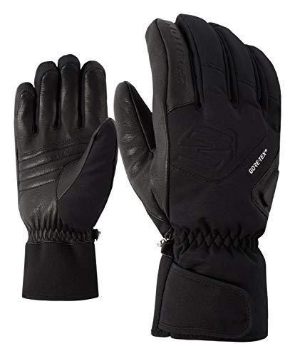 Ziener Herren Gonzales GTX(R) Plus Gore Active Glove ski Alpine Handschuh, Black, 8.5
